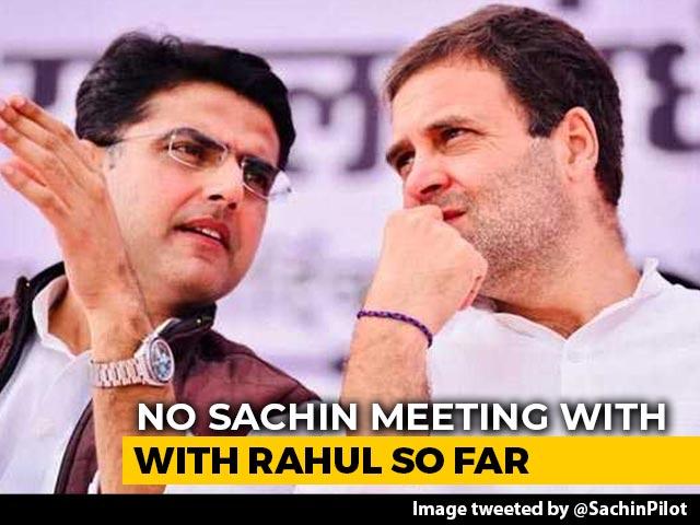 Video : No Rahul Gandhi Meet, Says Sachin Pilot, Congress Appeals - And Berates