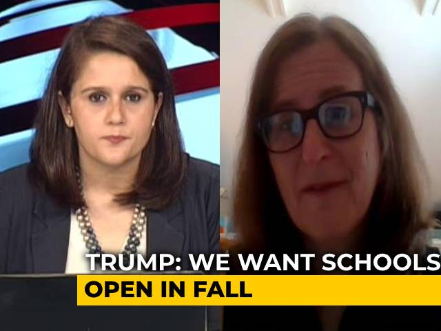 Video : Donald Trump Pushes To Open Schools As US Crosses 3 Million COVID-19 Cases