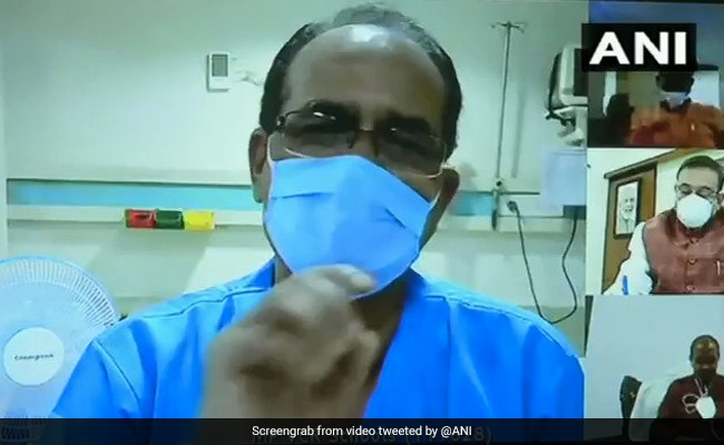 'Washing Clothes Myself': Shivraj Singh Chouhan, Covid +ve, In Video From Hospital
