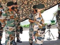 सेना प्रमुख जनरल नरवणे ने जम्मू-पठानकोट रीजन में फारवर्ड एरिया का किया दौरा