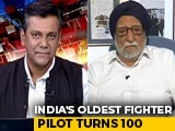 """Video : """"Still Feel That I Am Part Of Indian Air Force"""": 100-Year-Old Ex-Pilot"""