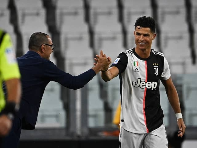 Historic Cristiano Ronaldo Puts Juventus On Brink Of Ninth Straight Serie A Title