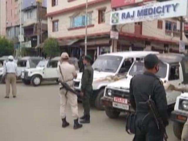 Video : Senior Police Officer Allegedly Shoots Self In Manipur, Critical