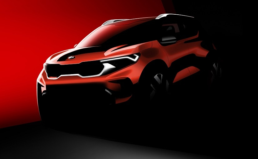 The Kia Sonet subcompact SUV will make its global debut on August 7, 2020