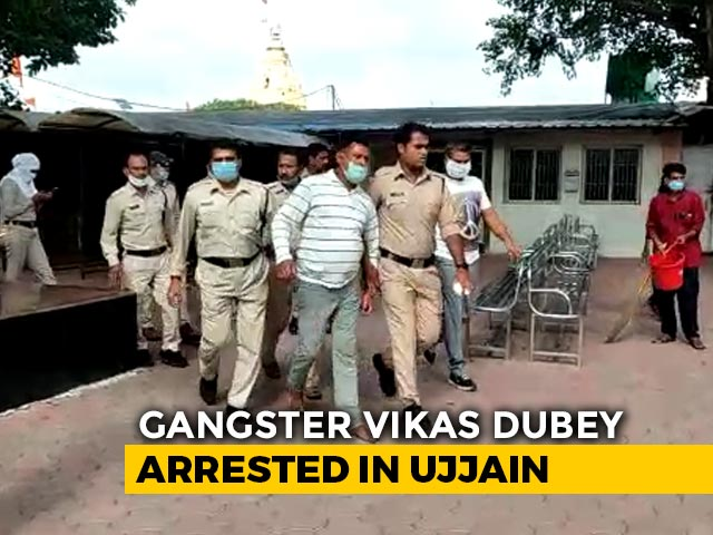 Video : How Vikas Dubey Ended Up At Temple: Questions After His Arrest
