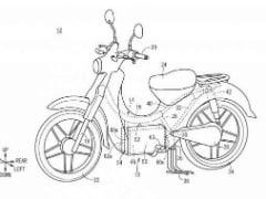 Honda Electric Super Cub Revealed In Latest Patent Filings