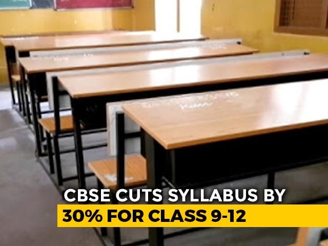 Video: 'Extraordinary Situation': CBSE To Reduce Syllabus For Classes 9-12