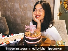 Bhumi Pednekar's Lockdown Birthday Featured This Two-Tiered Chocolate Cake!