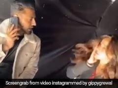 पंजाबी एक्टर ने नेहा शर्मा के अचानक ही जड़ दिया झापड़, Video हुआ वायरल