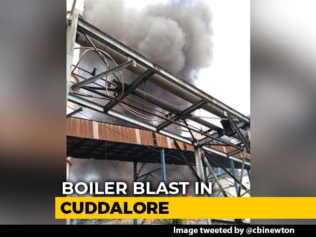 Video : Second Fatal Boiler Blast In Two Months At Plant In Tamil Nadu Kills 6