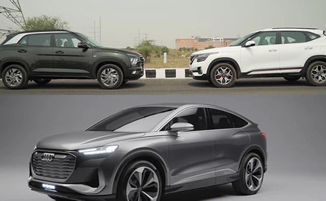 Video : Hyundai Creta vs Kia Seltos, Audi Q4 Sportback e-Tron Concept