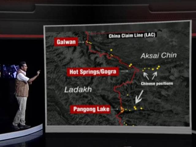 Video : Galwan Stand-Off: China Withdrawing In Ladakh