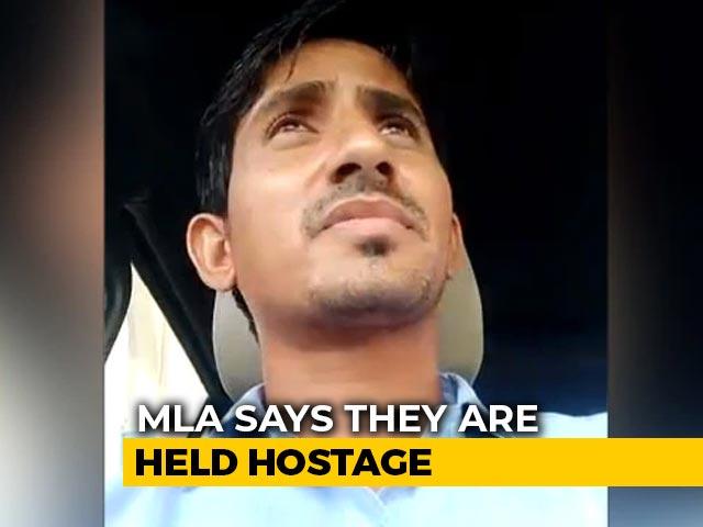 Video : Help, We're Held Hostage, Car Keys Taken: Rajasthan MLA's Viral Video