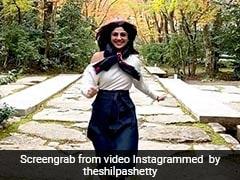 शिल्पा शेट्टी ने जापान के क्योटो में 'बाजीगर' के सॉन्ग 'ऐ मेरे हमसफर' पर यूं की मस्ती, देखें Video