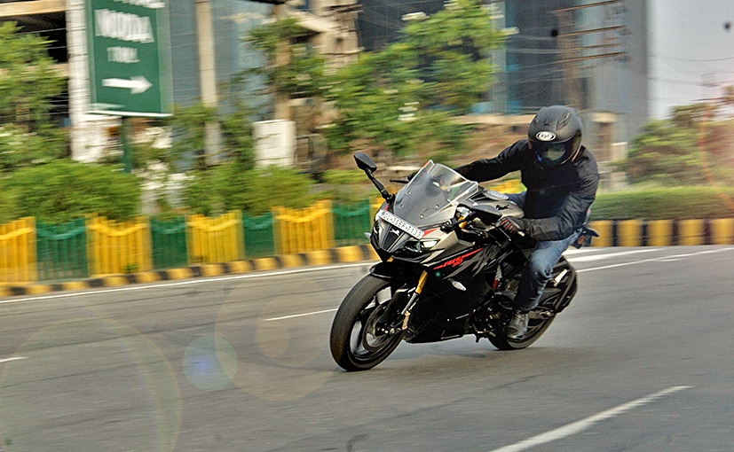 The TVS Apache RR 310 gets a comprehensive update with riding modes, new full-colour TFT screen and more!
