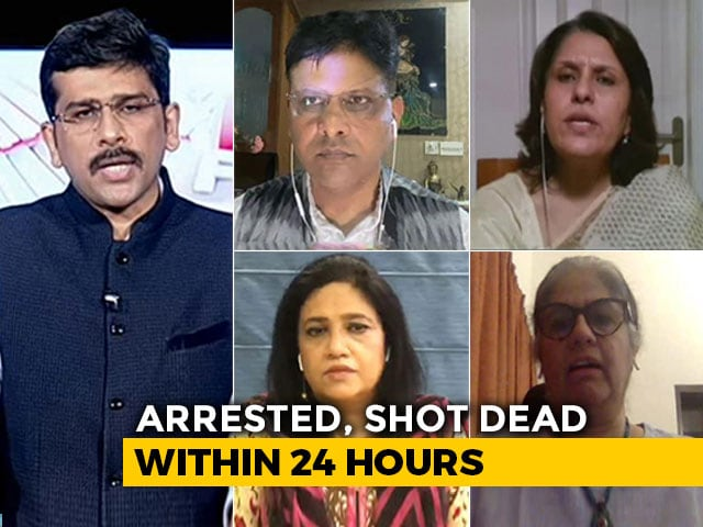 Video : Vikas Dubey: The Truth About Politician-Criminal Nexus 'Encountered'?