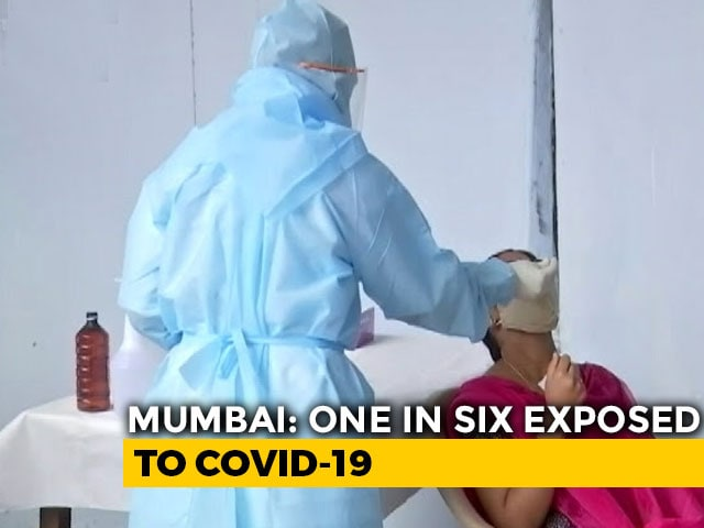 Video : Mumbai Survey Finds 57% Have Had COVID-19 In Slums, 16% In Other Areas