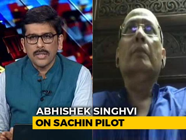 Video : This Is A Highly Avoidable Situation: Abhishek Singhvi On Sachin Pilot