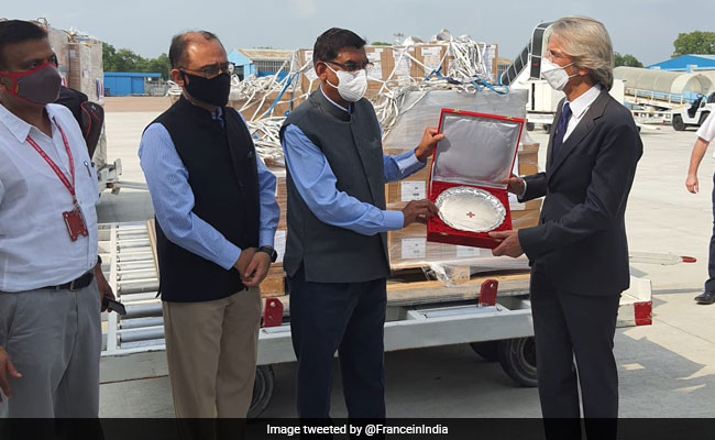 France Sends Ventilators, Test Kits To India To Aide Covid-19 Battle