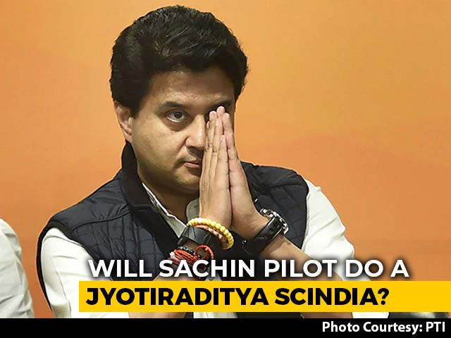 Video : Told You So: Jyotiraditya Scindia Tweet On Sachin Pilot