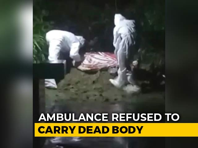 Video : Bengal Family Forced To Bury 70-Year-Old COVID-19 Patient Outside Home