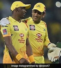Watch: Bravo Pays Birthday Tribute To Dhoni With 'Helicopter Song'
