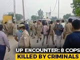 Video : Eight UP Policemen Shot Dead By Criminals In Kanpur