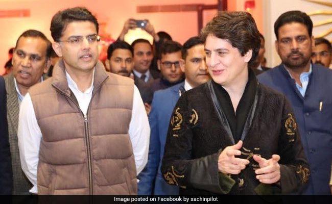 प्रियंका गांधी ने सचिन पायलट को राहुल और सोनिया गांधी से मिलवाने का दिया था ऑफर: सूत्र