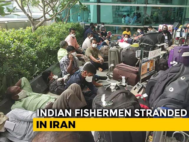 Video : 58 Indian Fishermen Repatriated From Iran After 4 Months Of No Work, Pay