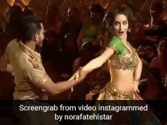 Nora Fatehi ने 'प्रीतम प्यारे' सॉन्ग से स्टेज पर मचाया तहलका, बार-बार देखा जा रहा Video