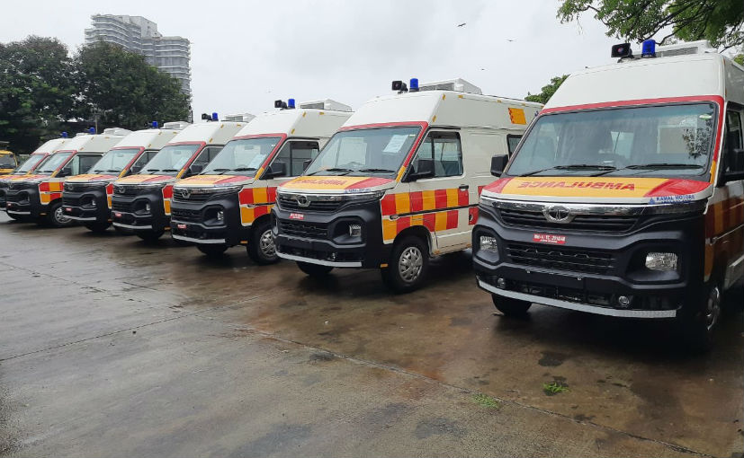 The Tata Winger ambulances are based on the all-new Winer, which was shown at the 2020 Auto Expo