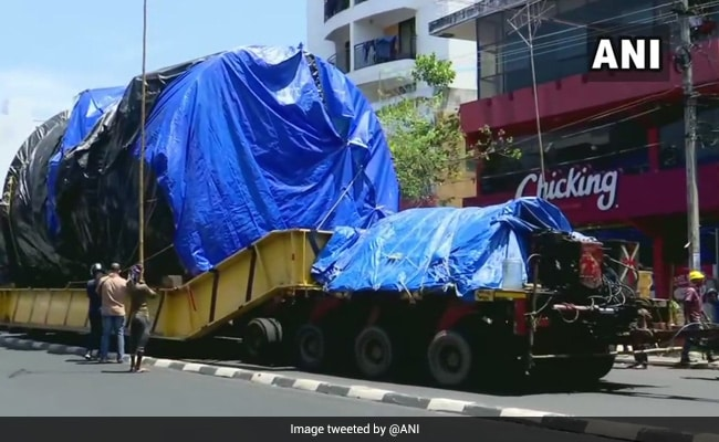 Giant Machine For Space Project From Nashik Reaches Kerala After A Year