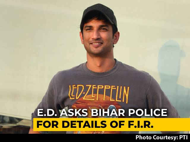 Rs 15-Crore Allegation Draws Probe Agency Into Sushant Singh Rajput Case