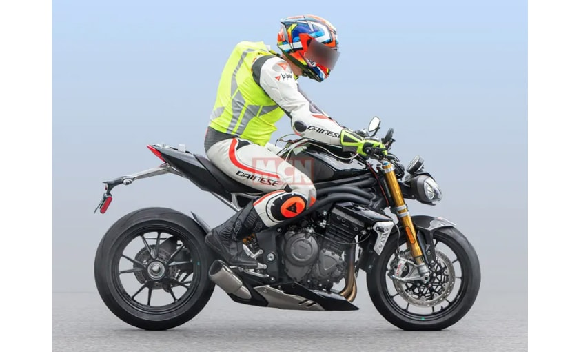 2021 Triumph Speed Triple Spotted On Test