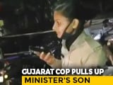 Video : Gujarat Cop Who Stopped MLA's Son, His Friends Amid Lockdown Transferred