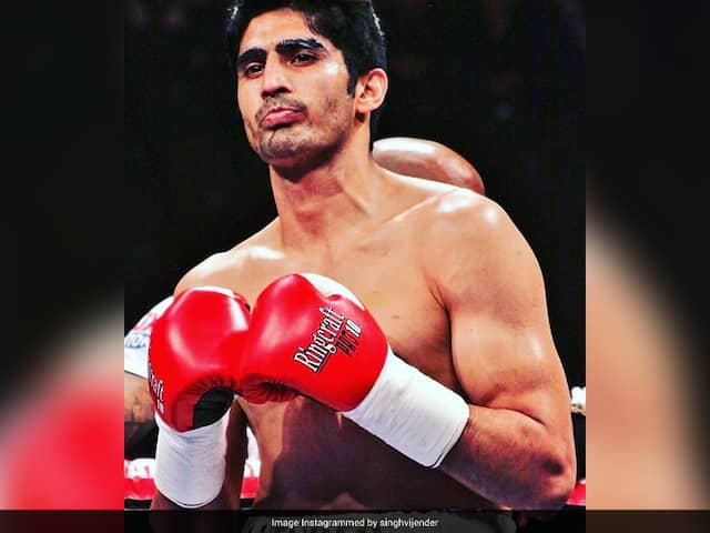Vijender Singh Eyeing Pro Bout In Two-Three Months As His Promoter Restarts Action In US