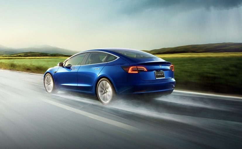 Bookings for the Model 3 had opened for the Indian market in 2016
