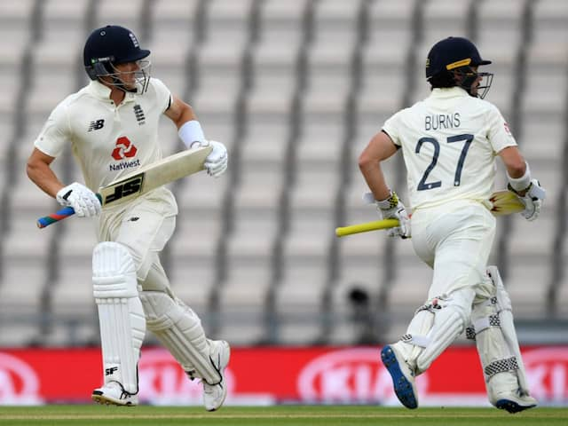 England vs West Indies 1st Test Highlights: Rory Burns, Joe Denly Fight For England Amid Rain On Day 1