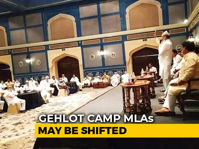 """Video : Now MLAs Off To Jaisalmer As Ashok Gehlot Says """"Horse-Trading Rates Up"""""""