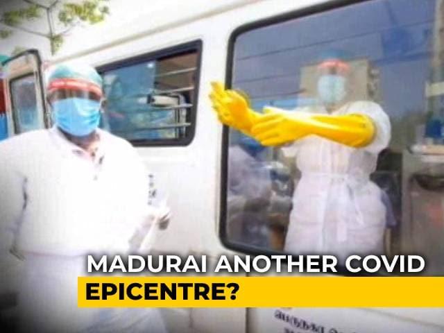 Video : Tamil Nadu Coronavirus Cases: Chennai Dips, Madurai Spikes