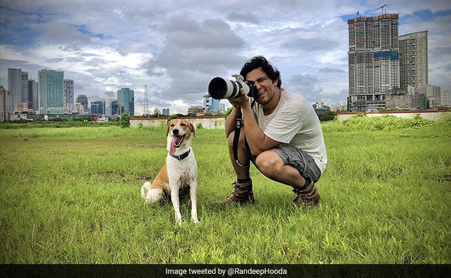 रणदीप हुड्डा ने किया अपने कुत्ते का फोटोशूट, सोशल मीडिया पर लोगों ने कहा- आपका कैमरा तो...