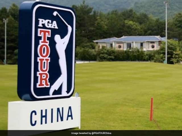 Golfs PGA Tour Series-China Season Cancelled Because Of Coronavirus