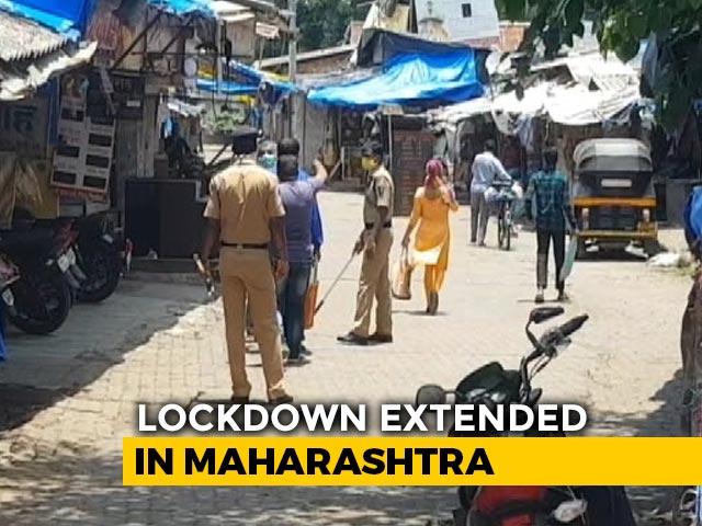 Video : Maharashtra Lockdown Extended Till Aug 31, Restaurants To Be Allowed
