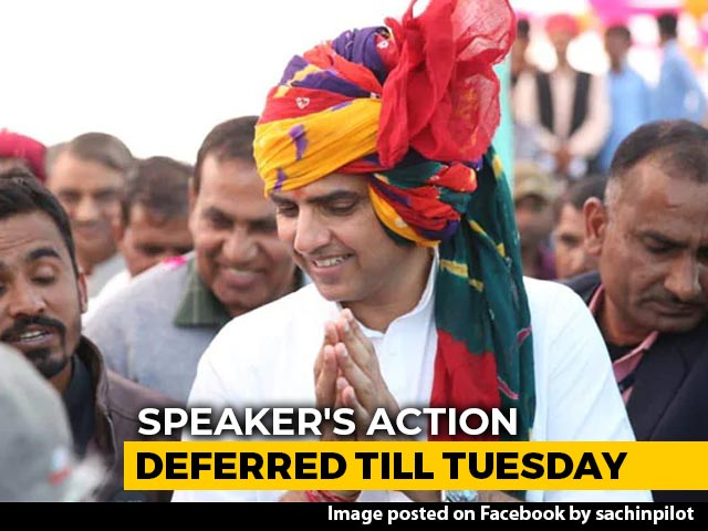 Video : Win Of Sorts For Sachin Pilot, No Action Allowed Against Him Till Tuesday