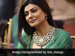 जब इस खूबसूरत सिल्क ग्रीन साड़ी में नजर आई थीं सुष्मिता सेन, देखें Viral Photo