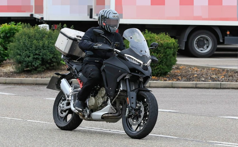 Latest spy shots show clear details of the upcoming Ducati Multistrada V4