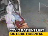 Video : COVID-19 Patient's Body Dumped Outside Bhopal Hospital. Shocker On CCTV