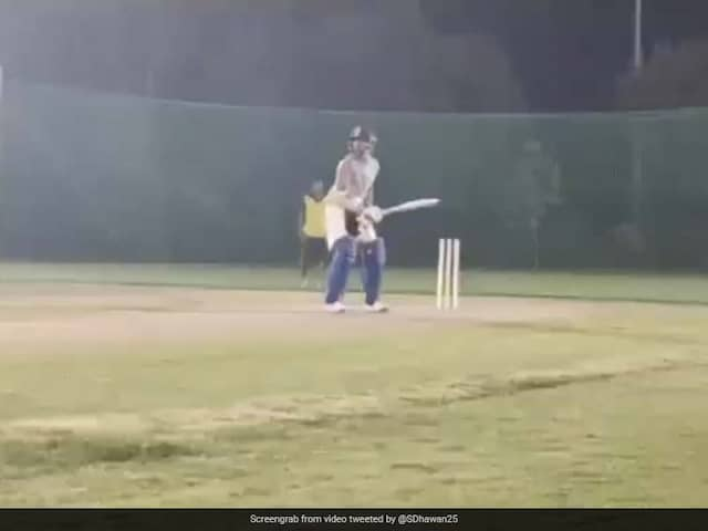Shikhar Dhawan Shares Batting Video As He Returns To Training. Watch