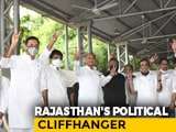 Video : Ashok Gehlot Flaunts MLAs, Sachin Pilot Rejects Numbers Claim