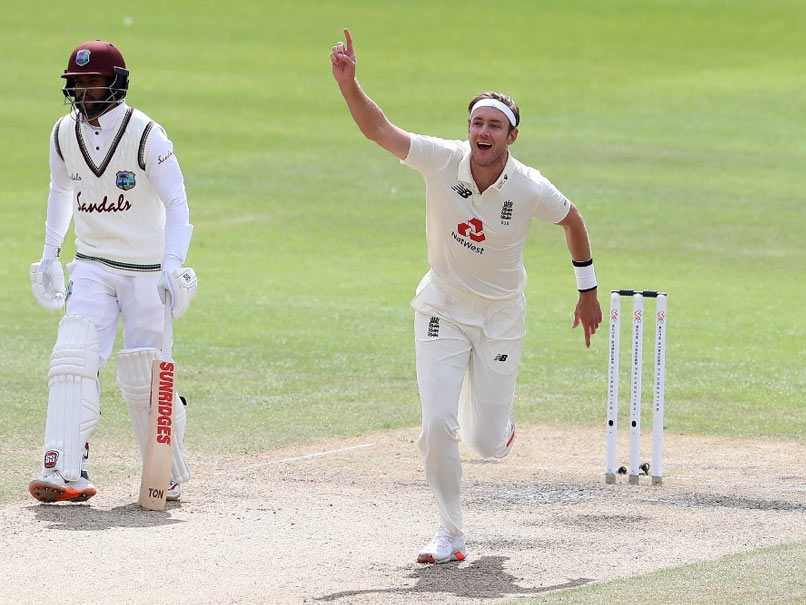 Broad looks forward to Pakistan series after 500 Test wickets